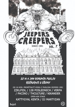 JEEPERS CREEPERS VOL.7 v Bohumíně 14.09.2019