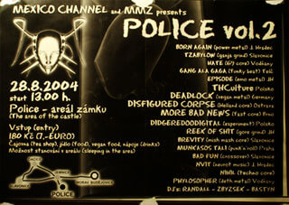 Concert THCulture and Didgeridoodigital on the castle in Police (cz) 28.08.2004