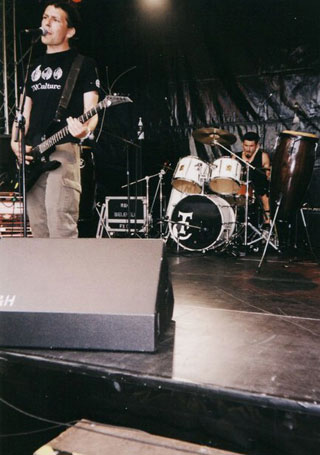 Concert THCulture and Jesus Chrysler Suicide - Bielefeld 2001