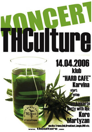 Concert THCulture in Karvina and Ostrava (cz) 14.04.2006