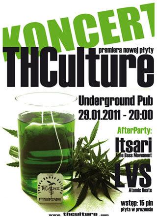 Concert THCulture - new album premiere Tea Age Culture - Rzeszów 29.01.2011