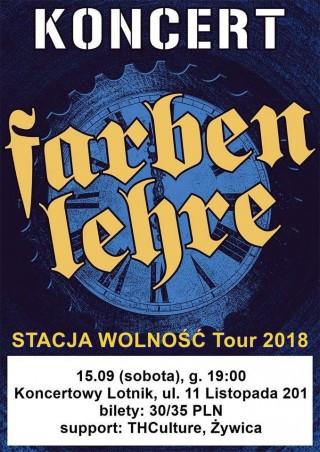 Koncert Farben Lehre, THCulture i Żywica - Staszów - Lotnik - 15.09.2018