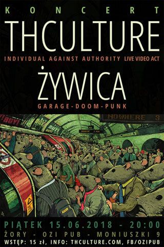 Concert THCulture and Żywica - Żory - OZI PUB - 15.06.2018