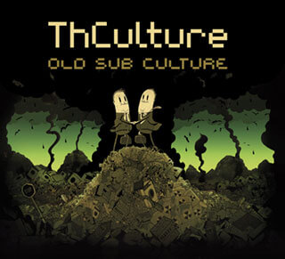 THCulture - Old Sub Culture album cover drew Steve Cutts